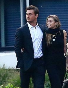 Gigi Hadid and Tyler Cameron
