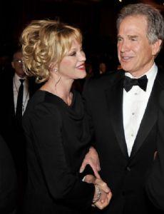 Melanie Griffith and Warren Beatty