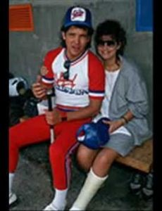 Nancy McKeon and Michael Damian