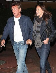 Sean Penn and Shannon Costello