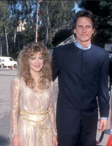 girlfriend Crystal Bernard with her ex-boyfriend Billy Dean