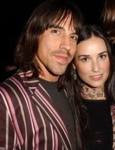Anthony Kiedis and Demi Moore