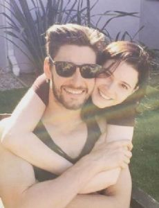 Ben Barnes and Meganne Young