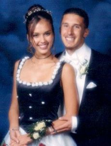 Jessica Alba and Christopher Lakkees