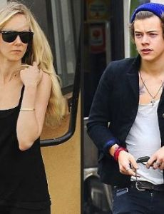 Harry Styles and Kimberly Stewart