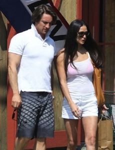 Demi Moore and Martin Henderson