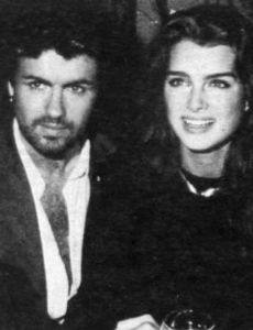 Brooke Shields und George Michael