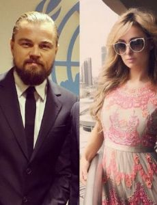 Leonardo DiCaprio and Paris Hilton