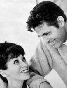 Jack Lord and Marie De Narde