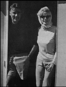 Peter Lawford and Marilyn Monroe