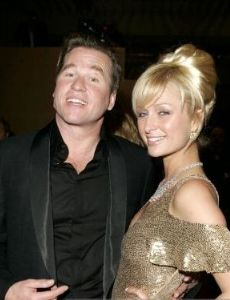 Paris Hilton and Val Kilmer