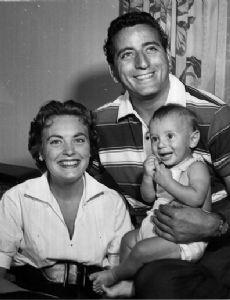 Tony Bennett and Patricia Beech