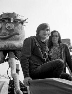 Dennis Wilson and Carole Freedman