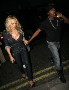 Ray J and Pamela Anderson