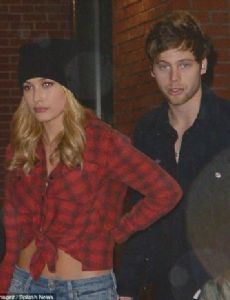 Hailey Baldwin and Luke Hemmings