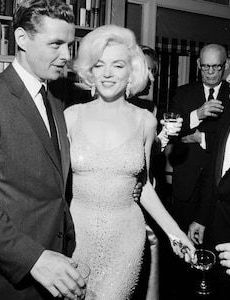 Marilyn Monroe and Robert F. Kennedy