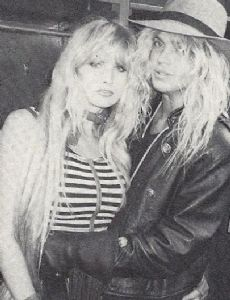 Susie Owens and Bret Michaels