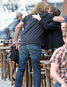 Robert Plant and Katrina Chester