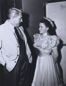 Spencer Tracy and Judy Garland