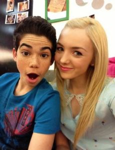 Cameron Boyce and Peyton List