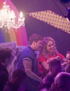 Rita Ora and James Arthur