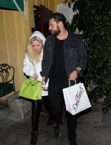 Avril Lavigne and J.R. Rotem