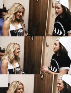 Ellie Goulding and Luke Friend