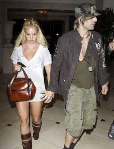Britney Spears and Criss Angel