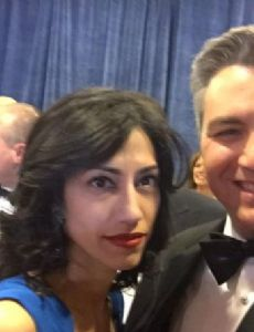 Jim Acosta and Sharon Mobley Stow