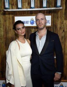 Emily Ratajkowski and Jeff Magid