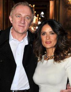 Salma Hayek and François-Henri Pinault