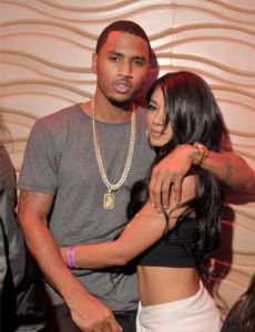 Trey Songz and Mila J