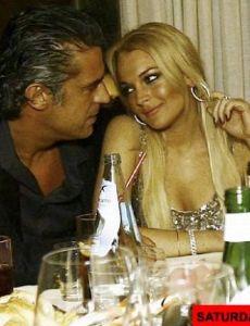 Lindsay Lohan and Eduardo Costa