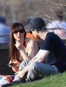 Erin Darke and Daniel Radcliffe