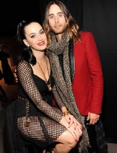 Jared Leto and Katy Perry