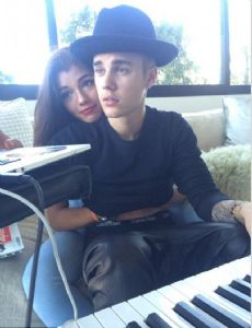 Yovanna Ventura and Justin Bieber