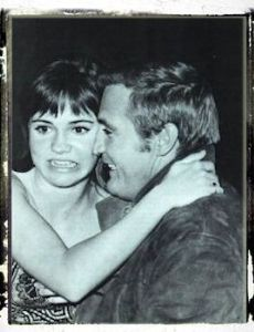 Lee Majors and Sally Field