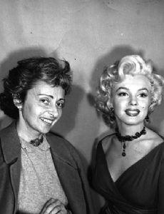 Natasha Lytess and Marilyn Monroe