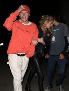 Stella Maxwell and Jordan Barrett