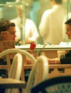 Demi Moore and Leonardo DiCaprio