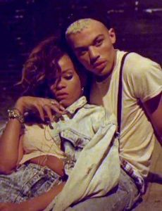 Rihanna and Dudley O' Shaughnessy