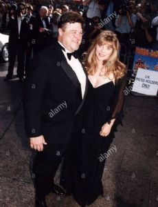 Annabeth Hartzog and John Goodman