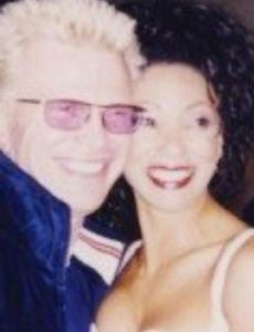 Billy Idol and Downtown Julie Brown