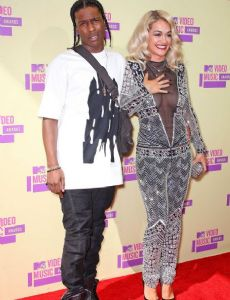 Rita Ora and Asap Rocky