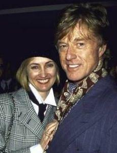 Kathy O'Rear and Robert Redford