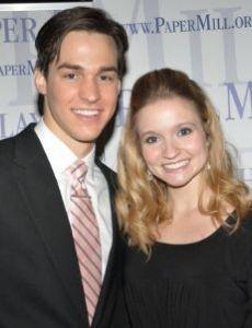 Chris Wood and Erin Burniston
