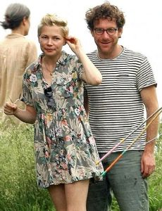 Michelle Williams and Jonathan Safran Foer