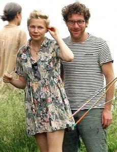 Michelle Williams and Jonathan Safran Foer