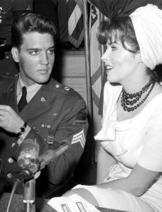 Elvis Presley and Tina Louise