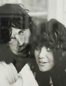 Mick Jagger and Linda Ronstadt